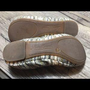 Lucky Brand Shoes - Lucky Brand woven textile flats